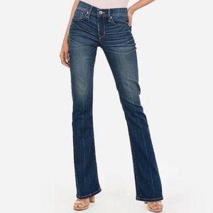 NWT EXPRESS Stella Bootcut Low Rise Jeans 10L